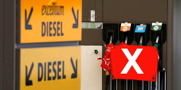 fin du diesel à paris en 2020