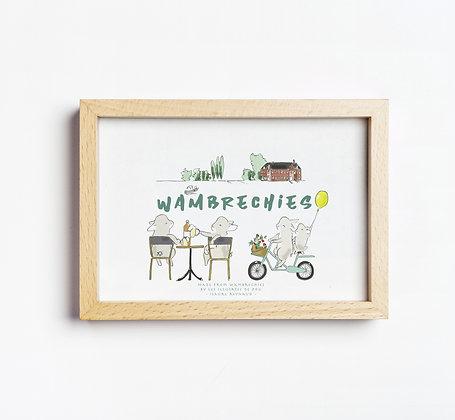 Affichette Wambrechies