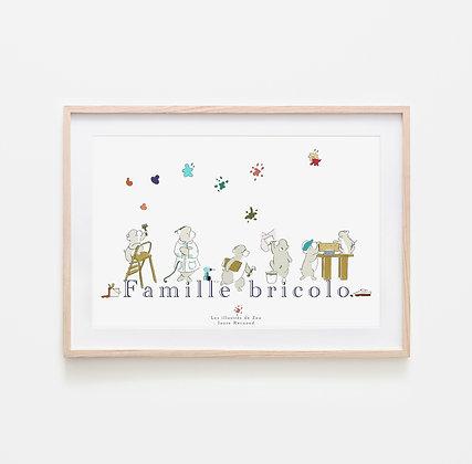Famille bricolo