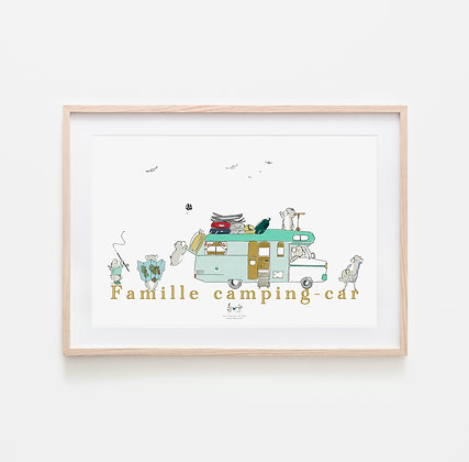 Famille camping-car
