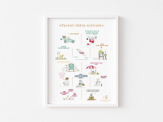 Affiche Parent-thèse estivale n°5
