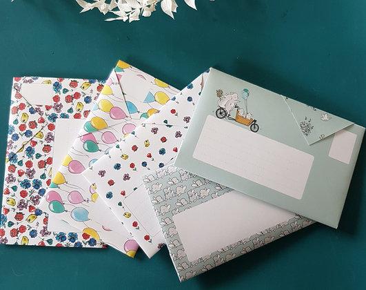 Lettre enveloppe origami KIDS