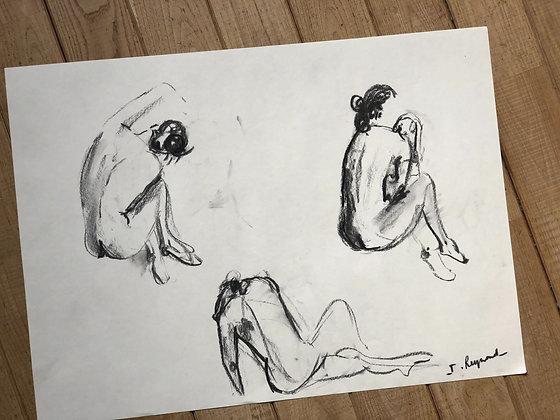 Trio de silhouettes