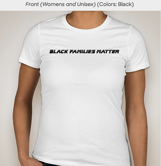 Black Families Matter Women's T-shirt