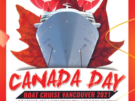 Canada Day Boat Party Vancouver 2021  Things to Do Vancouver