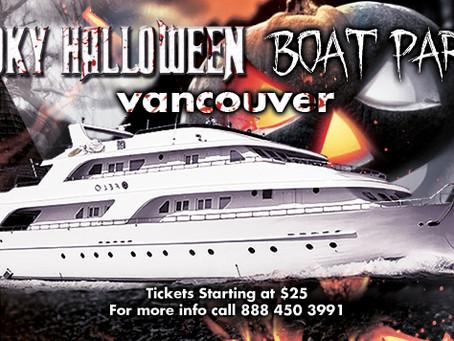 Spooky Halloween Boat Party