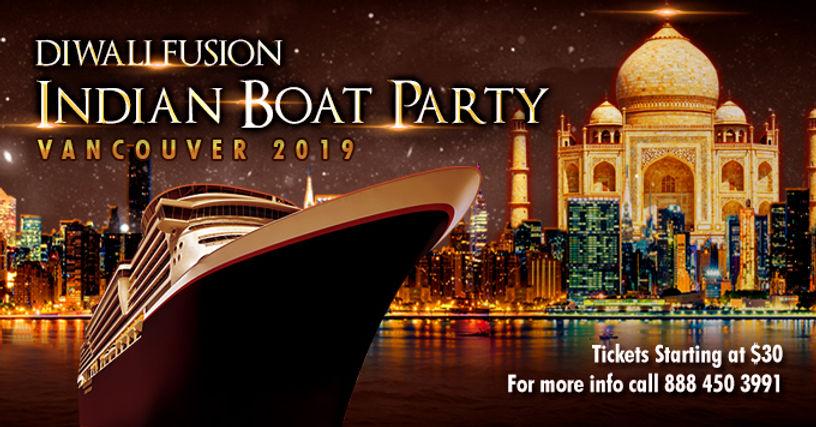 diwali boat party vancouver desi bollywo