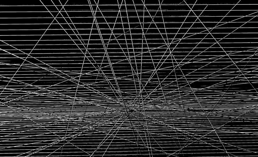 Gravitational lines-83 x 83 x 10 cm  .jp