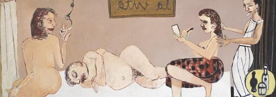 La vita, Öl auf Leinwand, 125 x 315 cm, 2001