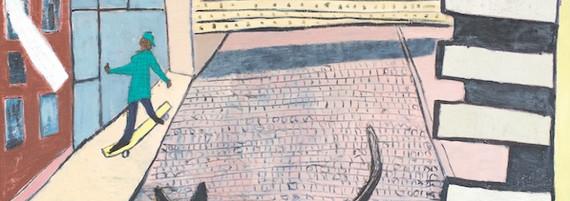 Hagestolz, Öl auf Leinwand, 200 x 200 cm, 2004
