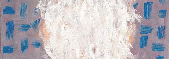 Charakterkopf, Öl auf Leinwand, 40 x 40 cm, 2018