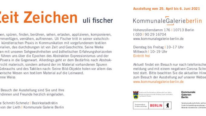 Uli FISCHER - Kommunale Galerie Berlin