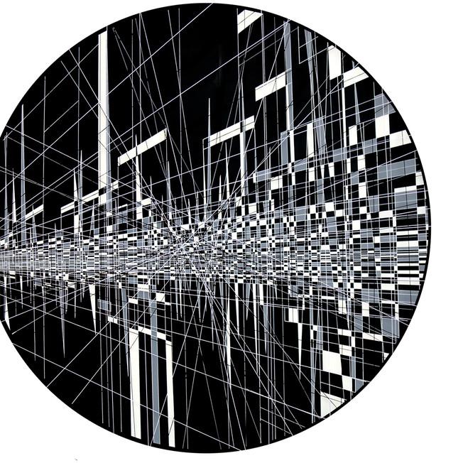Linear entanglement-83 cm diam.B .jpg