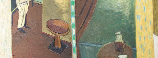Bar an der Reeperbahn, Öl auf Leinwand, 110 x 100 cm, 1984