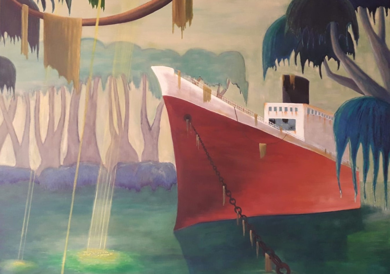 Prinz Dunst, 2014, 140x170 cm