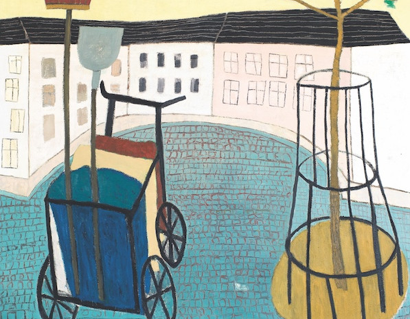Die große Langweile, Öl auf Leinwand, 200 x 200 cm, 2005