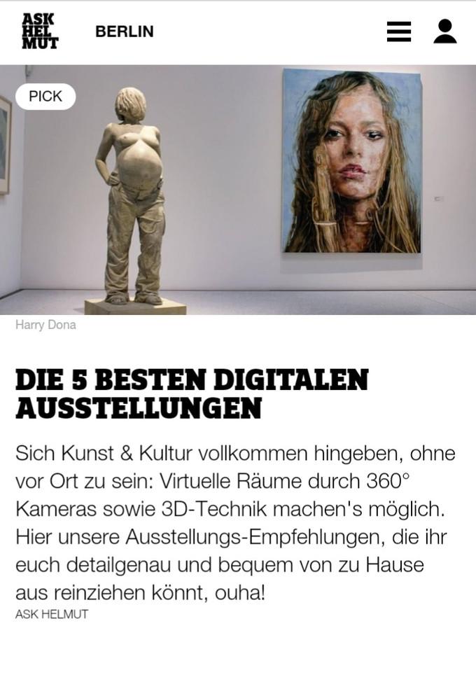 MATERIA - Top 5 exhibitions in Berlin