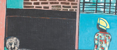 Flott, Öl auf Leinwand, 185 x 145 cm, 2014