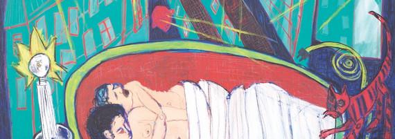 Zwischen Tod und Leben, Öl auf Leinwand, 205 x 305 cm, 1994