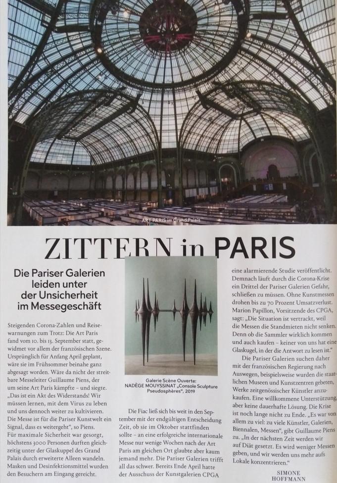 Nadège MOUYSSINAT - Monopol Art Magazine