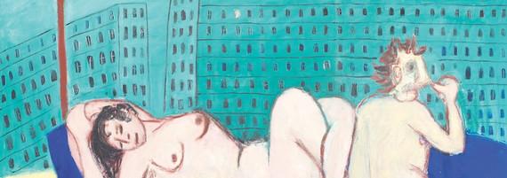 Schöner Morgen, Öl auf Leinwand, 185 x 250 cm, 1996