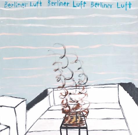 Berliner Luft, Öl auf Leinwand, 100 x 80 cm, 2007