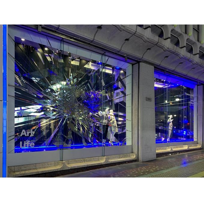 Thomas CANTO - Installation at SEIBU, Tokyo