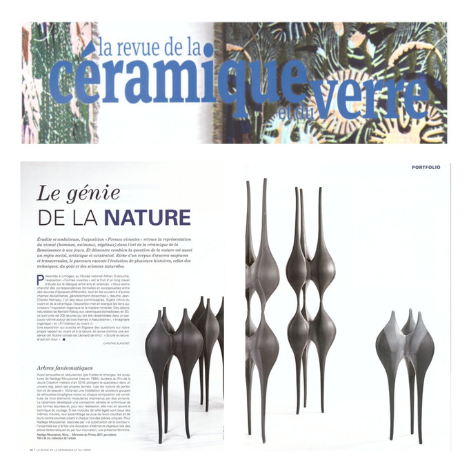 Nadège MOUYSSINAT - Revue de la céramique
