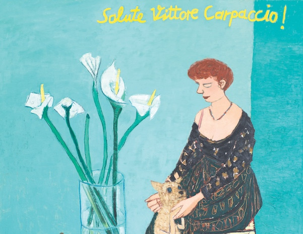 Salute Vittore Carpaccio!, Öl auf Leinwand, 200 x 200 cm, 2003/2006