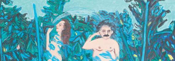 Il Paradiso, Öl auf Leinwand, 185 x 250 cm, 1994