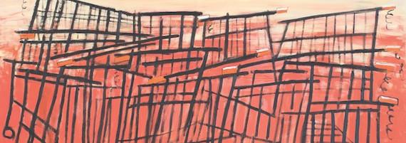 Die Invasion, Öl auf Leinwand, 185 x 185 cm, 2011