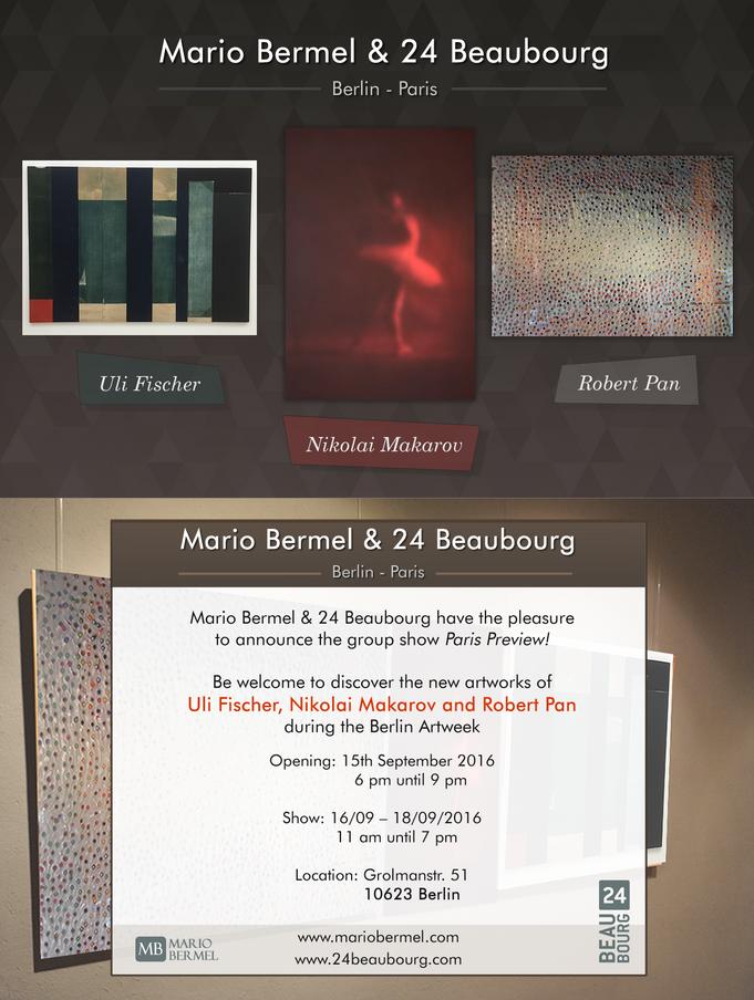 Art Week Berlin: Uli Fischer, Nikolai Makarov and Robert Pan