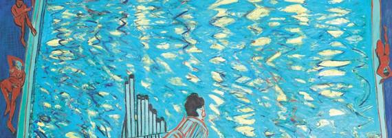Wassermusik, Öl auf Leinwand, 205 x 305 cm, 1992