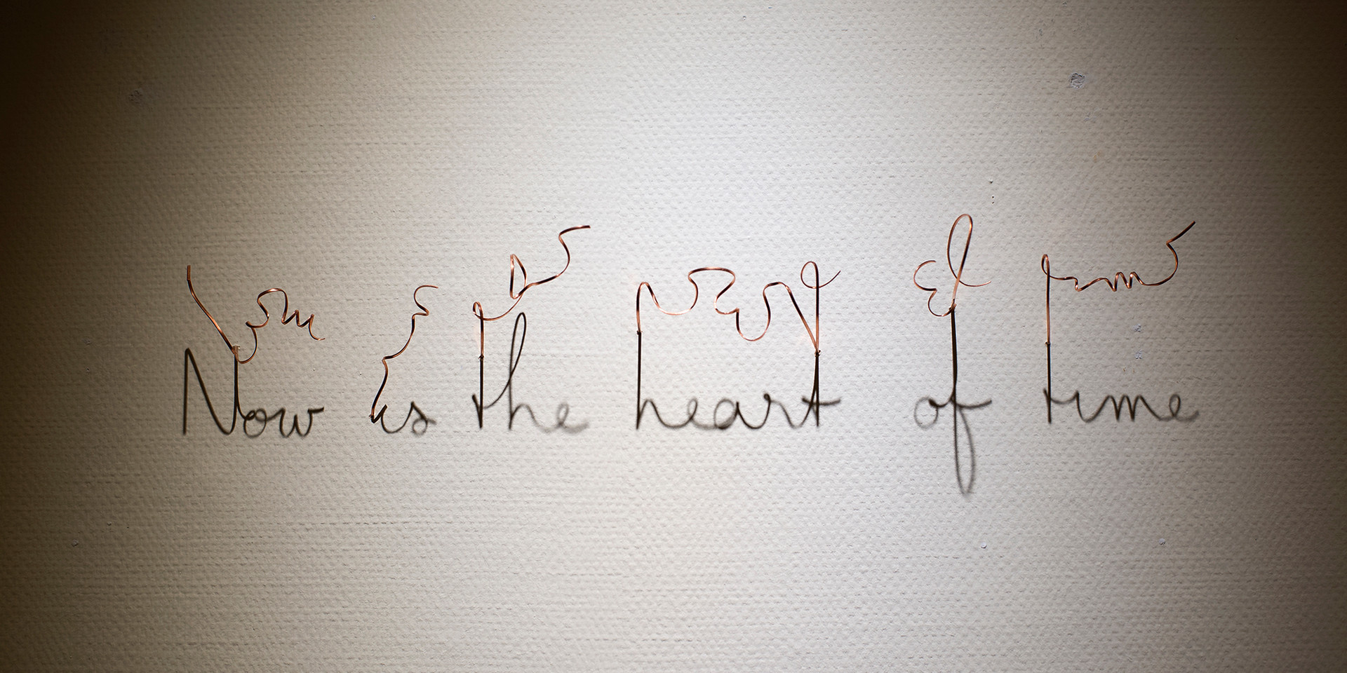 Now is the heart of time