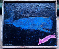 Sperm Whale with Squid_ 2014