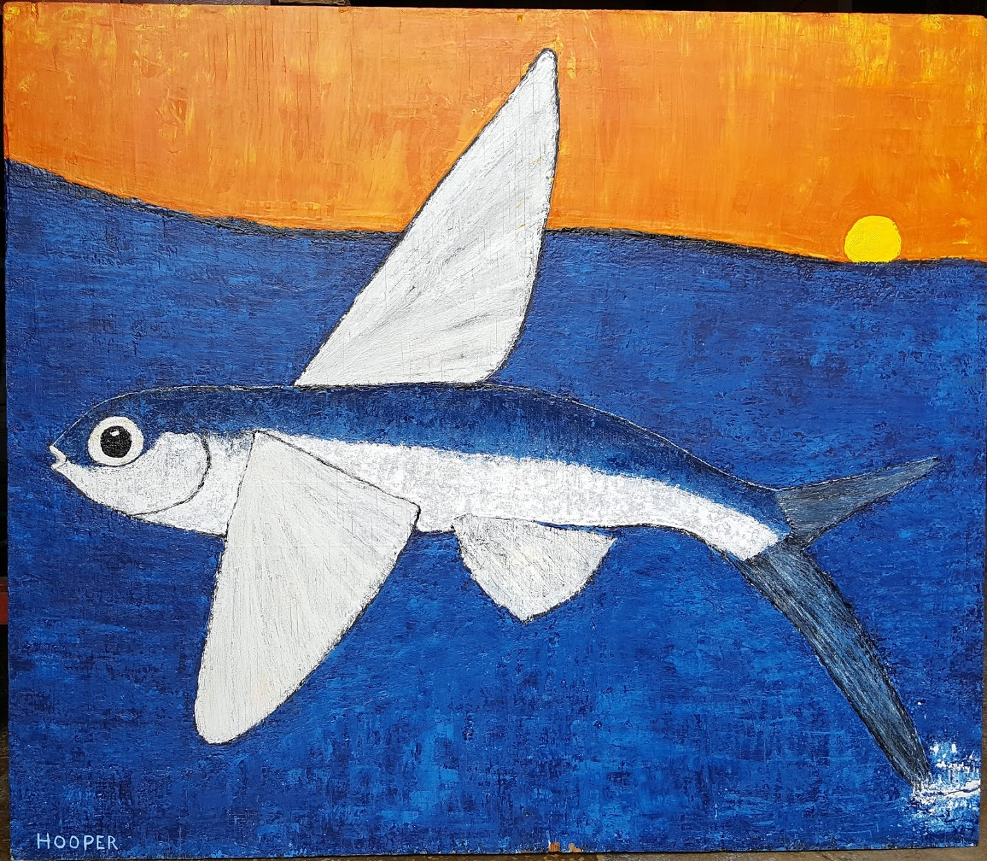 Flying Fish at Sunrise, 2018