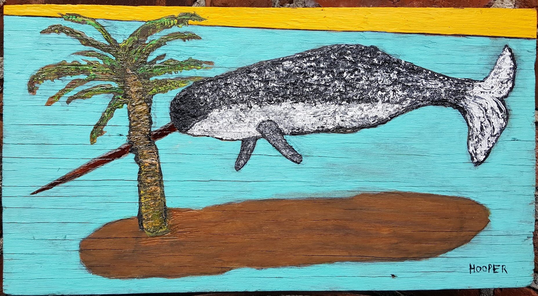 Narwhal out of water, 2019