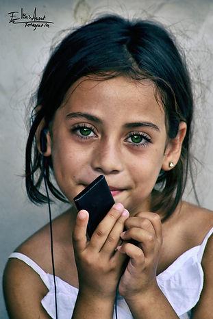 Retrato niña montaña, green eyes girl, honduras, portrait, Elias Assaf