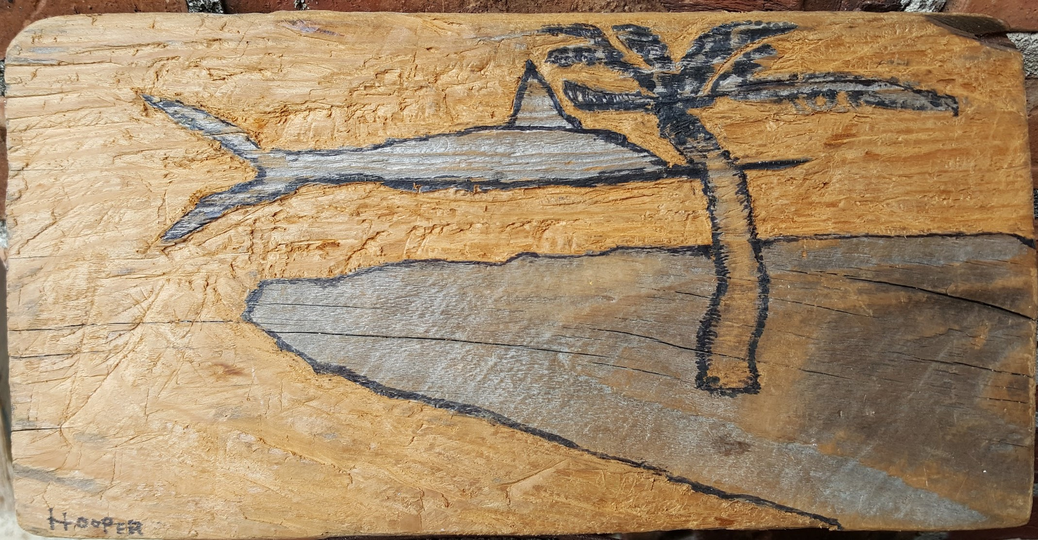 Fish Out of Water Carving_ 2015