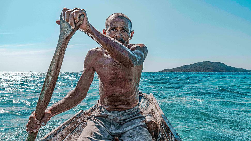 Fisherman from Cayos
