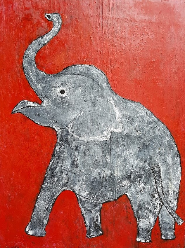 Happy Little Elephant