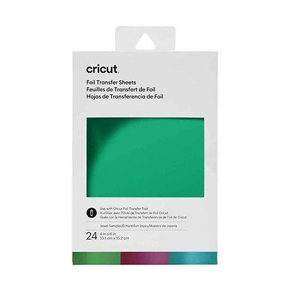 Foil Transfer Sheets Sampler, Jewel (24 ct)