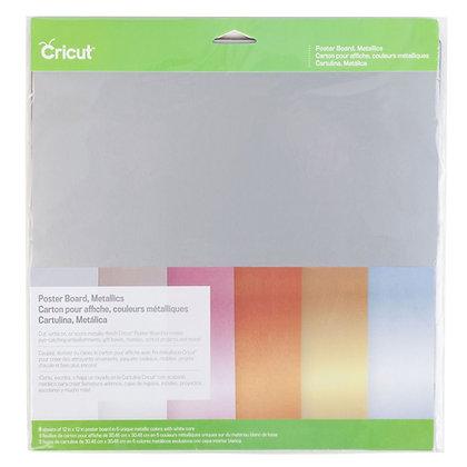 Cricut Poster Board, Metallics