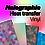 Thumbnail: Holographic heat transfer vinyl