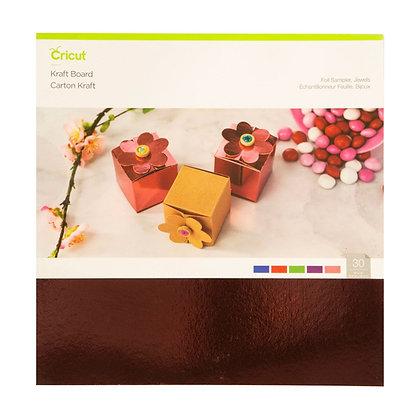 Kraft Board Foil Sampler, Jewels