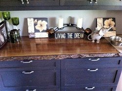 Live Edge Cabinet