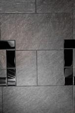 custom bathroom details Amanda George Interior Design