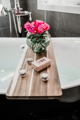 bathtub details Amanda George Interior Design