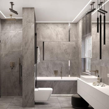 Duravit wares with Hansgrohe shower