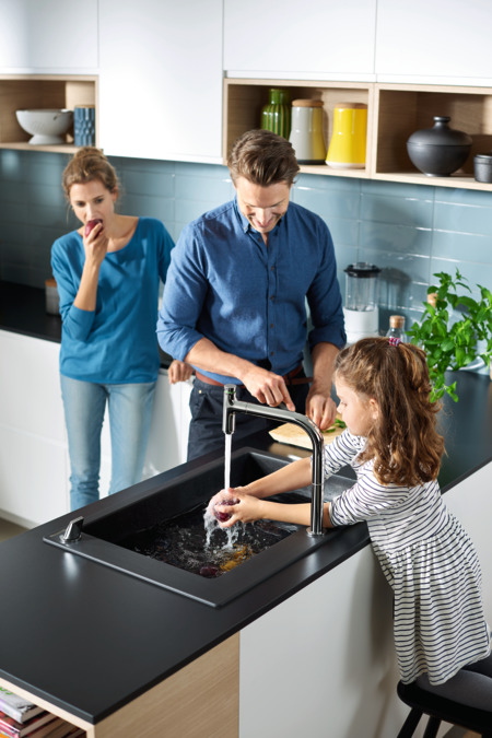 Hansgrohe SilicaTec Granite Sinks